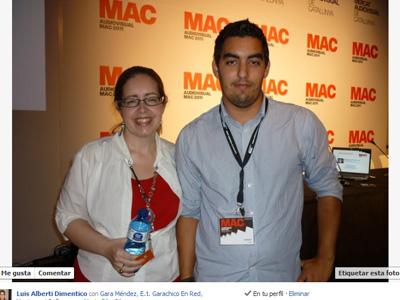 Una fotos con la maestra del marketing  Montserrat Peñarroya